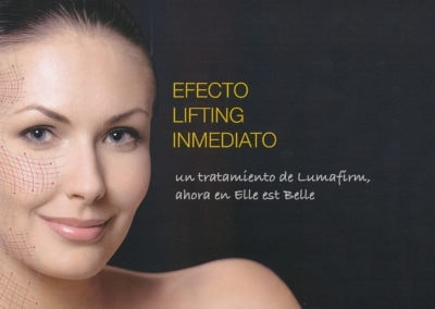 Lumafirm: immediate lifting effect